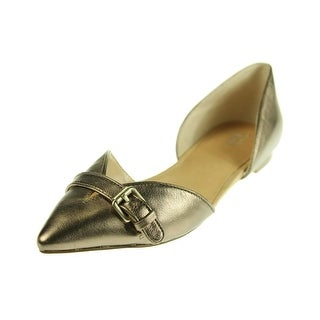 Dr. Scholl's Womens Tivoli Leather Pointed Toe D'Orsay