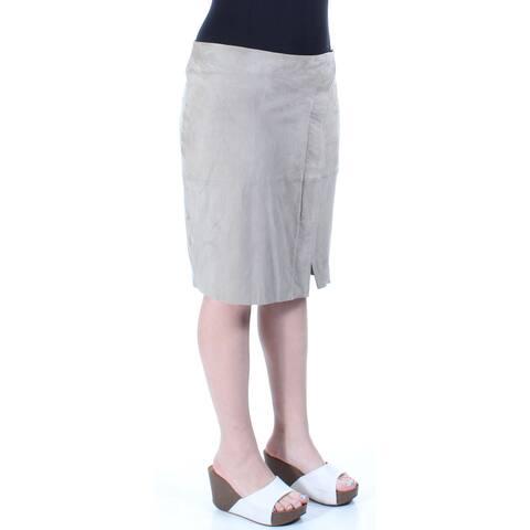 Ralph Lauren Womens Gray Mini A-Line Skirt Size: 10