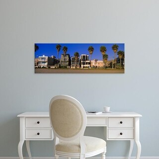 Easy Art Prints Panoramic Image 'Buildings in a city, Venice Beach, City of Los Angeles, California, USA' Canvas Art