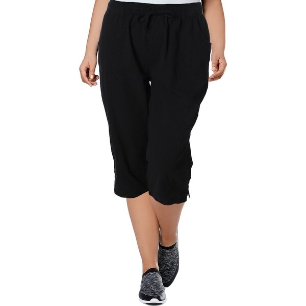 ac3efe4da0 Shop Karen Scott Womens Skimmers Elastic Waist Drawstring - XL - Free  Shipping On Orders Over $45 - Overstock - 22366843