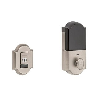 Baldwin 8252.B Evolved Arched Single Cylinder Deadbolt with Bluetooth Technology