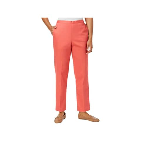 Alfred Dunner Womens Dress Pants Classic Fit Business