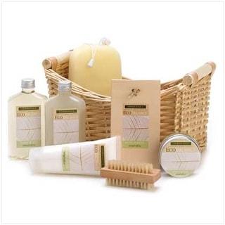 Eco Balance Lemongrass Eucalyptus Bath Spa Basket