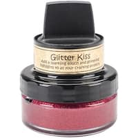 Cosmic Shimmer Glitter Kiss-Fire Red