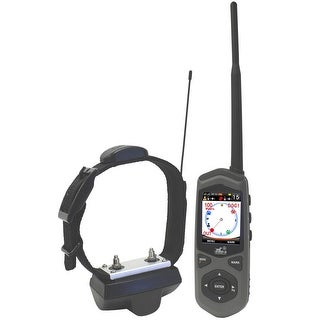 D.E. Systems Border Patrol: GPS Dog Containment System, Remote Trainer and Short-Range Tracking Unit