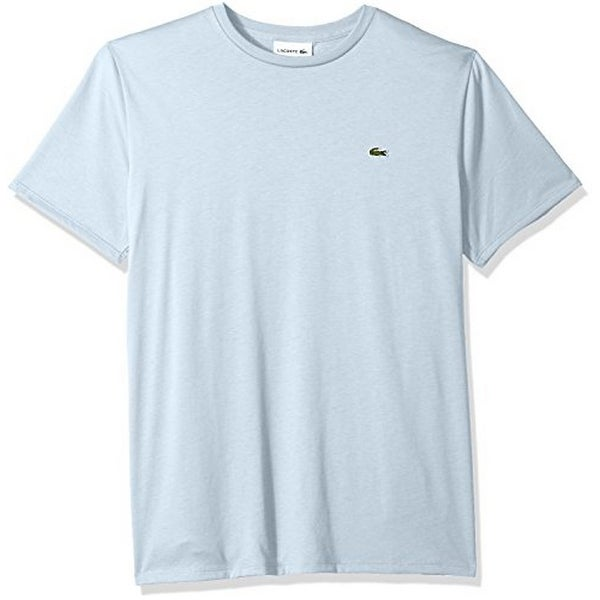 55e057d0 Lacoste Mens Short Sleeve V-Neck Tee