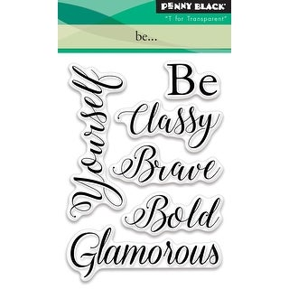 """Penny Black Clear Stamps 3""""X4""""-Be..."""