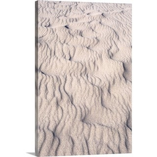 """""""Ripples in the sand"""" Canvas Wall Art"""
