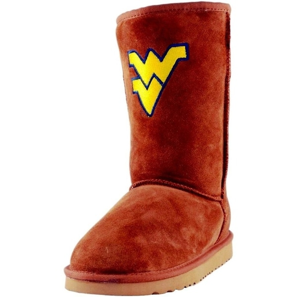 Gameday Boots Womens West Virginia Roadie Hickory WV-RL1020-1