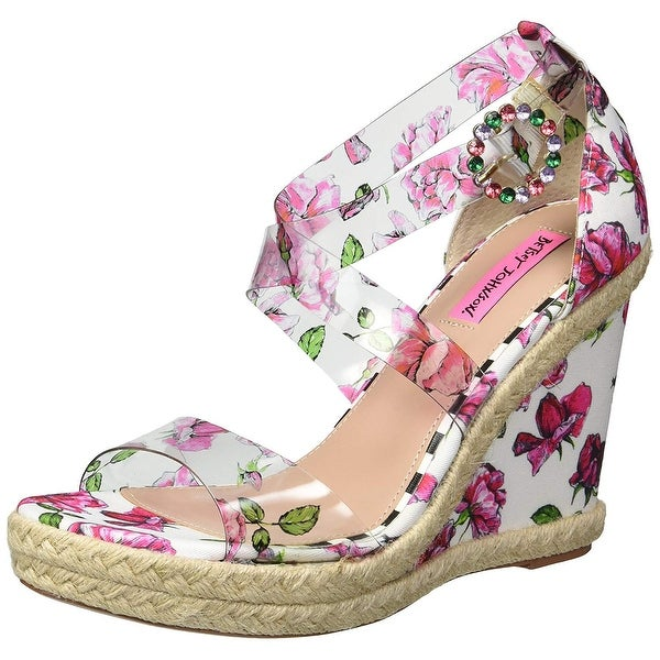 ddc1838ef8f Shop Betsey Johnson Women's Fraser Wedge Sandal - 7.5 - Free ...