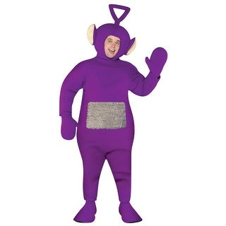 Adult Teletubbies Tinky Winky Halloween Costume - Standard - One Size