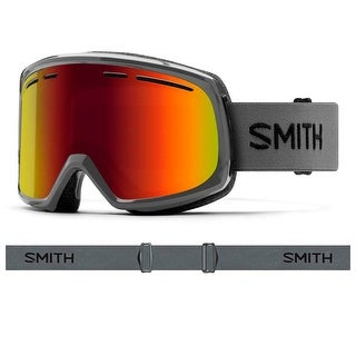 Smith Optics 2017/18 Range Goggle - Charcoal Frame, Red Sol-X Mirror Lens
