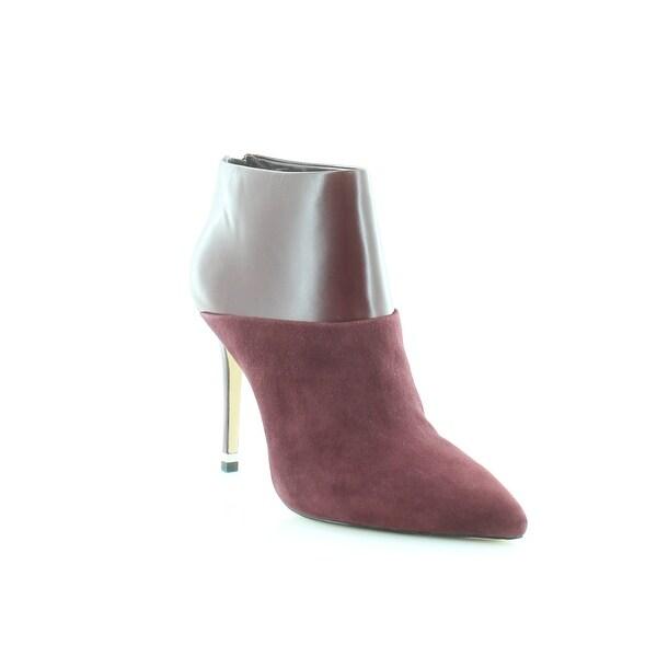 Michael Kors Freya Bootie Women's Heels Merlot - 7.5