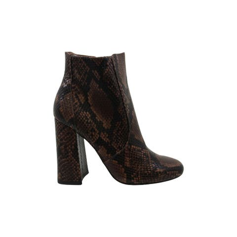 Steve Madden Womens trix Almond Toe Ankle Fashion Boots