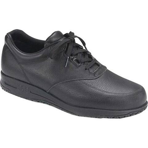 SAS Men's Guardian Oxford Black Leather