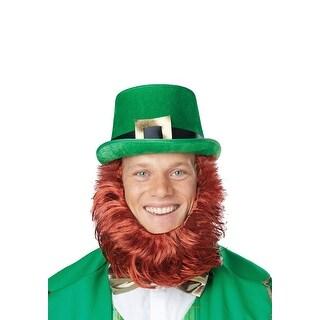 Leprechaun Hat w/Attached Beard
