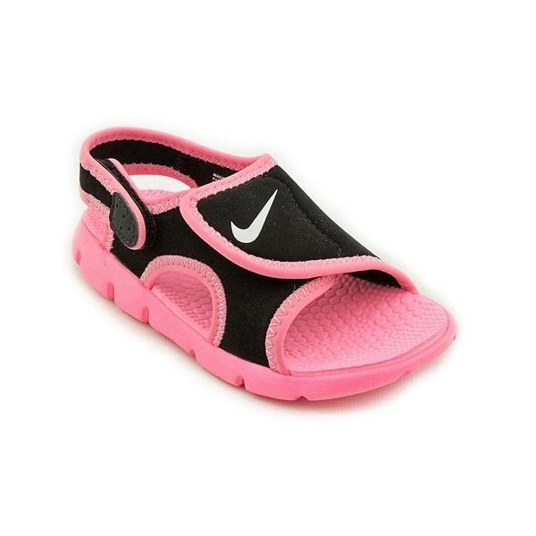 1b1e4ffc5 Nike Black Sunray Sport Sandals - Pre-School Girls size 13C toddler flip  flops -