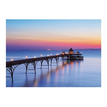 ''Clevedon Pier, Bristol Channel, England'' by Craig Joiner Photography Art Print (23.5 x 31.5 in.)