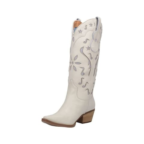 """Dingo Western Boots Womens 14"""" Pull On Underlays Pull On"""