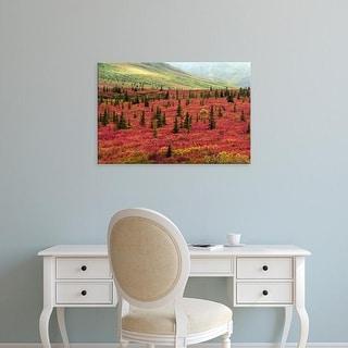 Easy Art Prints Michel Hersen's 'Autumn On The Taiga' Premium Canvas Art