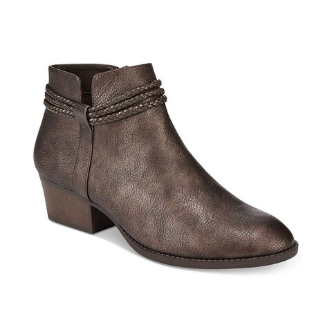 Style & Co. Womens Fellicity Closed Toe Ankle Fashion Boots
