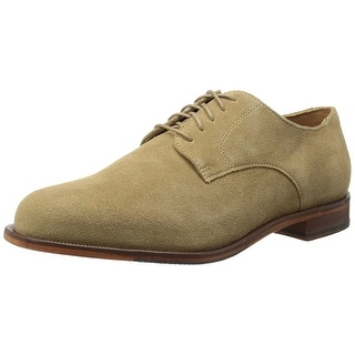 Cole Haan Mens Carter Grand Plain Leather Lace Up Dress Oxfords