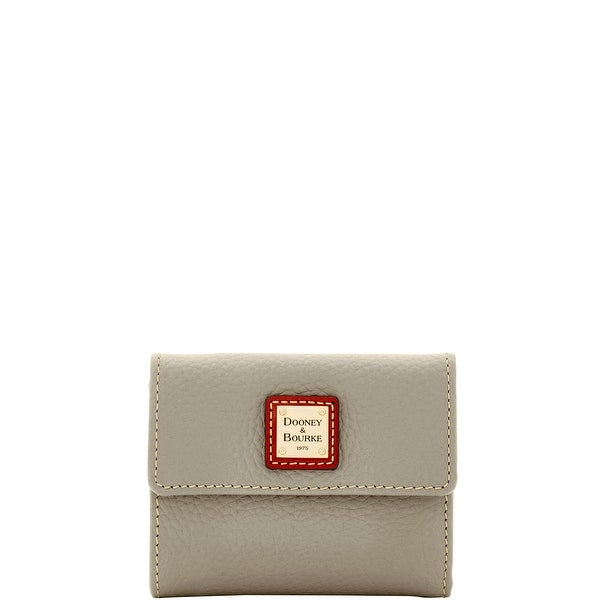 Dooney & Bourke Pebble Grain Small Flap Wallet (Introduced by Dooney & Bourke at $98 in Oct 2014)