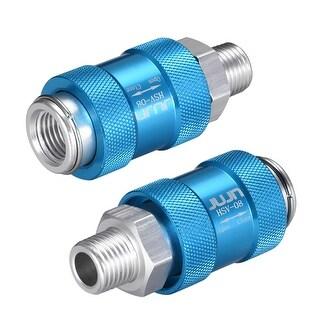 """Speed Control Valve 1/4"""" G Thread Pneumatic Flow Control Hand Slide Valve - HSV-08 1/4"""" G Thread"""