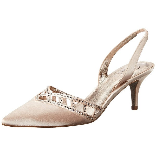 Adrianna Papell Womens Haven Pointed Toe SlingBack D-orsay Pumps