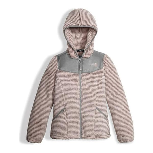 5703f4c15faa Shop The North Face Girls  Oso Hoodie Purdy Pink Stripe - On Sale - Free  Shipping Today - Overstock - 19390699