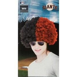 San Francisco Giants Wig Baseball Halloween Accessory
