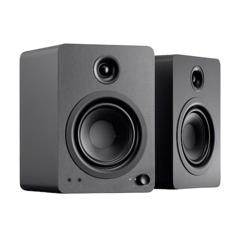Monoprice DT-5BT 60-Watt Multimedia Desktop Powered Speakers With Bluetooth For Home, Office, Gaming, Or Entertainment Setup