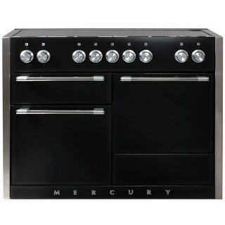 AGA AMC48IN Mercury Series 48 Inch Wide 6 Cu. Ft. Slide In Electric Range with G (Option: White)