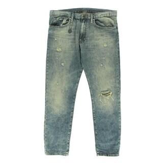 Denim & Supply Ralph Lauren Womens Boyfriend Jeans Relaxed Distressed