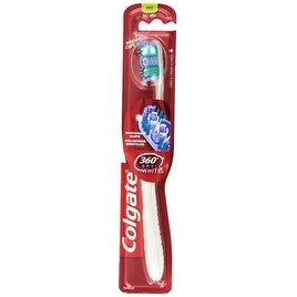 Colgate 360 Optic White Full Head Toothbrush, Medium, 1 ea