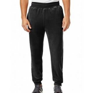 Sean John NEW Men's Black Size Large L Big Tall Velour Track Sweat Pants