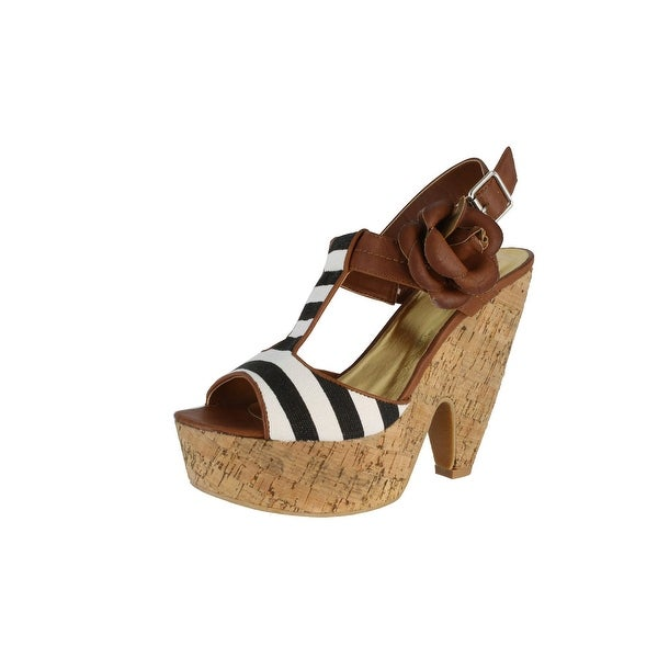 Not Rated Women's Treky Platform Sandal - Tan