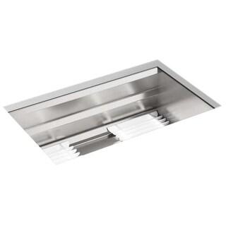 """Kohler K-23651 Prolific 29"""" Undermount Stainless Steel Single Basin Kitchen Sink"""