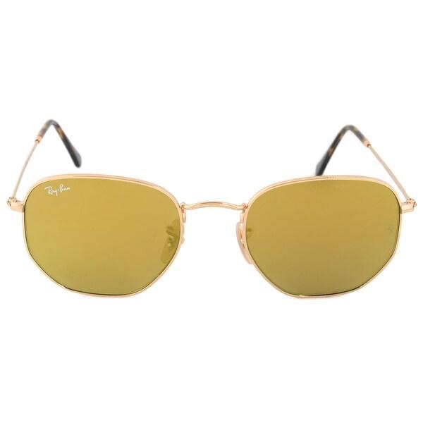 a5efe7314d Shop Ray-Ban Hexagonal Flat Lenses Sunglasses RB3548NF 001 93 54 ...