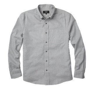 Jack Spade NEW Gray Mens Size Small S Houndstooth Button Down Shirt