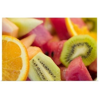 """Sliced fruit"" Poster Print"