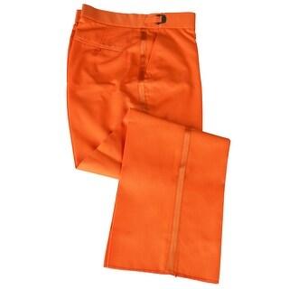 Orange Tuxedo Pants