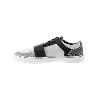 Creative Recreation Cesario Lo Woven Sneakers in Black Cloud