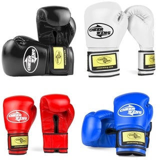 Pro Training Boxing Gloves for Muay Thai Kickboxing Sparring Punching