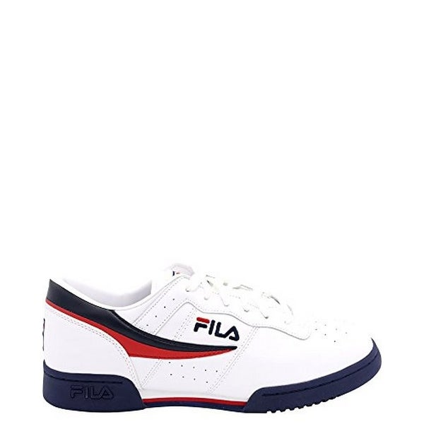timeless design da44a f2a70 Shop Fila Mens Original Fitness, White Navy Red, 8 - Free Shipping Today -  Overstock - 25364914