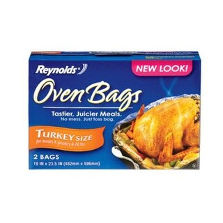 """Reynolds 00510 Oven Bags For Turkey, 19"""" x 23-1/2"""""""