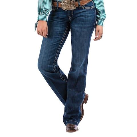 Cruel Girl Western Jeans Womens Jayley Trouser Dark Stone