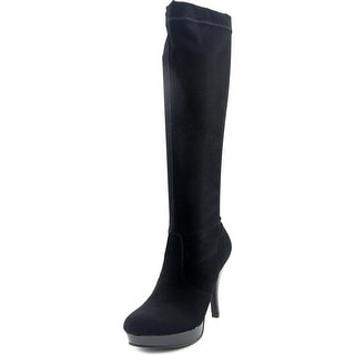 Kenneth Cole Reaction Group File Women  Round Toe Canvas  Knee High Boot
