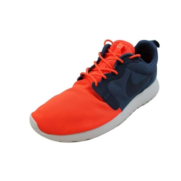 Nike Men's Rosherun HYP QS Total Crimson/Squadron Blue-Summit White 616325-841