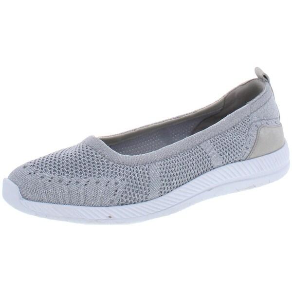Walking Shoes Knit Slip On
